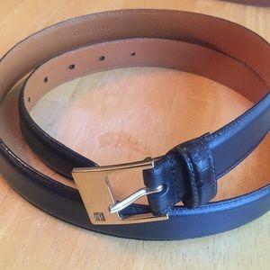 Ralph Lauren black belt XL